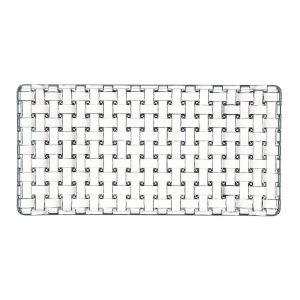 BOSSA NOVA Platou cristalin  rectangular 28 cm