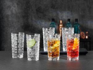 BOSSA NOVA Set 12 pahare cristalin apa 395 ml