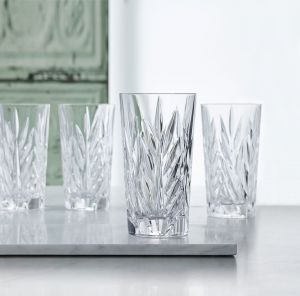 IMPERIAL Set 4 pahare cristalin apa/suc 380 ml