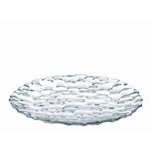 SPHERE Platou rotund cristalin rotund 32 cm