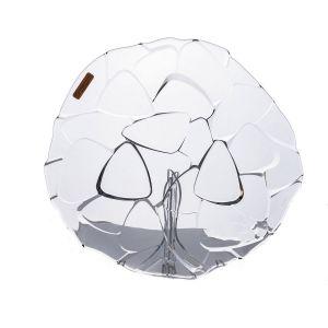 PETALS Platou cristalin 32 cm