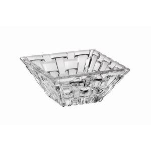 BOSSA NOVA Set 4 Boluri cristalin patrate 8.5 cm