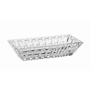 BOSSA NOVA Set 2 boluri cristalin rectangulare 17 cm