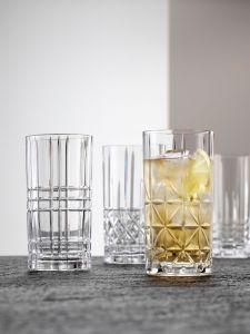 HIGHLAND Set 4 pahare cristalin apa 375 ml