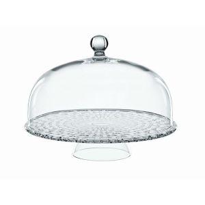BOSSA NOVA Platou tort + cupola cristalin