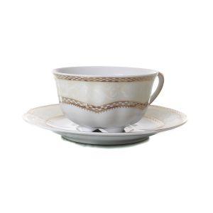 SOPHIA Serviciu ceai portelan 6 persoane 220 ml