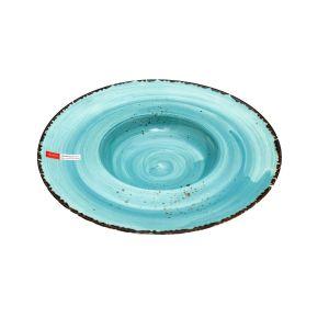 ANDALUZ Farfurie portelan albastru paste 27.5 cm