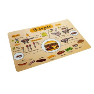 "Suport farfurie PP ""Burger"" 43*29 cm"