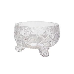 PINWHEEL Bol cristalin cu picioruse 11 cm