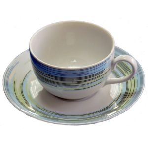 AMELIE Serviciu ceai portelan 6 persoane 250 ml