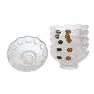 Set 6 boluri cristal 13 cm