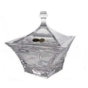 SAMURAI Bomboniera cristal Bohemia 18.5 cm