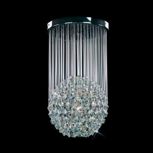 Plafoniera cristal 1 brat