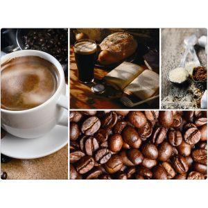 "Suport farfurie PP ""Cafea"" 43*29 cm"