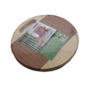 BACODA Tocator bambus cu maner bicolor 25*1.6 cm