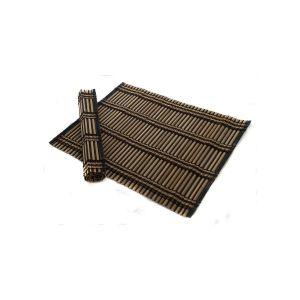 Set 2 suporturi farfurie bambus 45*30 cm