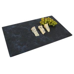 Platou melamina rectangular, decor marmura/granit, 53*32,5*1,5 cm