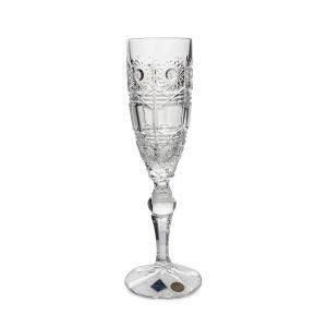 COMET Set 6 pahare cristal Bohemia sampanie 180 ml