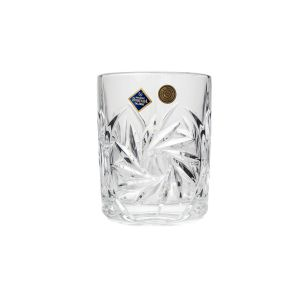 PINWHEEL Set 6 pahare cristal whisky 360 ml