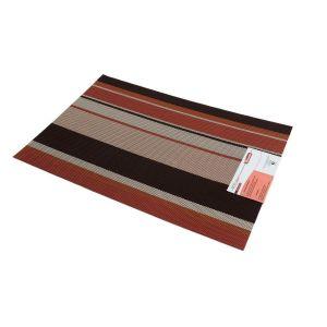Suport farfurie PVC 29*43 cm roscat/maro