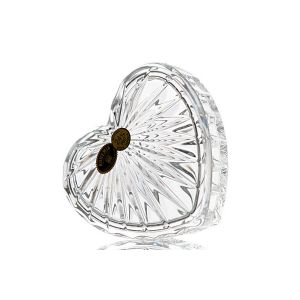 "Bomboniera cristal ""Inima"" 11 cm"
