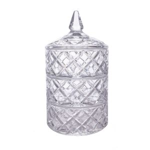 Bomboniera cristal 24 cm