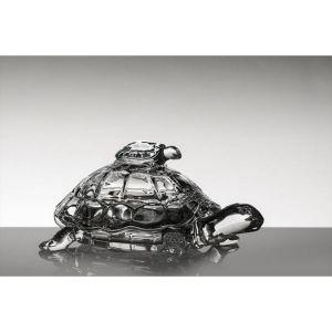"""Bomboniera cristal """"Testoasa"""" 26.5 cm"""