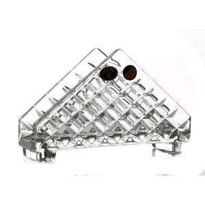 Suport servetele cristal Bohemia 17.2 cm