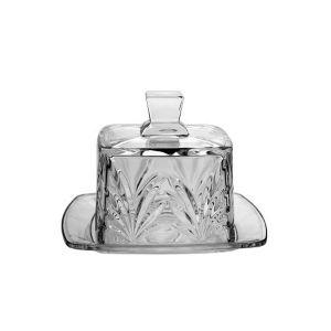 Platou tort si cupola cristal 22 cm
