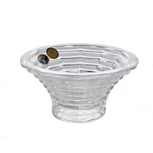 BLADE suport lumanare cristal 12 cm