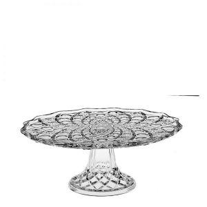 Platou tort cristal cu picior 30.5 cm