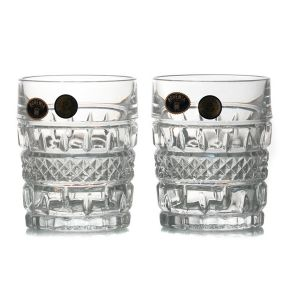 BRITTANY Set 6 pahare cristal whisky 240 ml