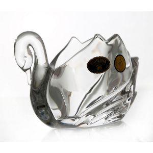 """Figurina cristal Bohemia """"Lebada"""" 12 cm"""