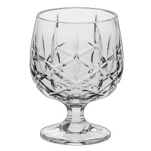 SHEFFIELD Set 6 pahare cristal cognac 250 ml