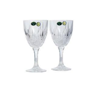 VIBES Set 6 pahare cristal Bohemia vin 250 ml