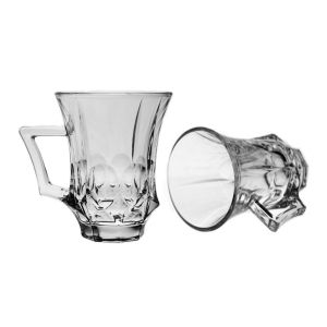 SOHO Set 6 cesti cristal 120 ml