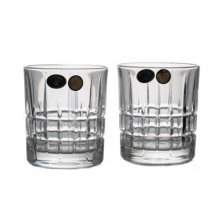 LONDON Set 6 pahare cristal whisky 320 ml