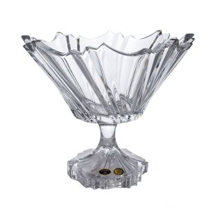 IKAROS Bol cristal cu picior 26.5 cm