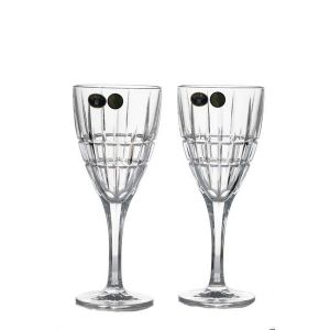 LONDON Set 6 pahare cristal Bohemia vin 250 ml