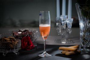 LARA Set 6 pahare cristalin sampanie 220 ml