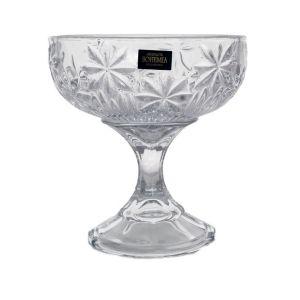 PERSEUS Nova Bol cristalin cu picior 15 cm