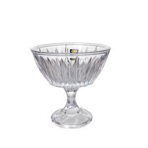 VENUS NEW NOVA Bol cristalin cu picior 17 cm