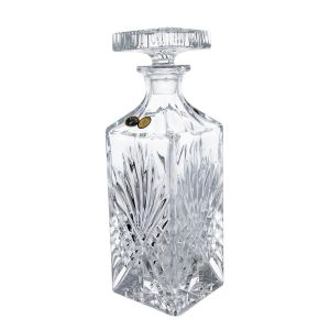 Decantor cristal Bohemia whisky 850 ml